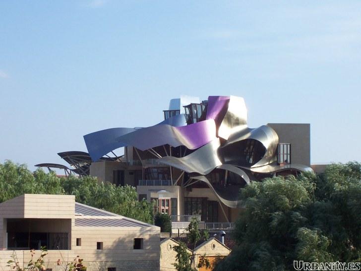 Arquitectura de vanguardia for Hoteles en la rioja