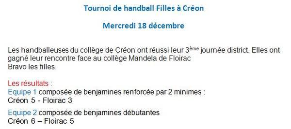 Site Internet Du Collège François Mitterrand à Créon